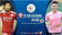 Soi kèo bóng đá TPHCM vs Hà Nội. Trực tiếp bóng đá V-League 2020