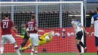 AC Milan 1-1 Atalanta: Donnarumma cản 11m, Calhanoglu lập siêu phẩm đá phạt