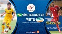 Soi kèo bóng đá SLNA vs Viettel. Trực tiếp bóng đá V-League 2020