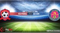Soi kèo bóng đá Hải Phòng vs Sài Gòn. Trực tiếp bóng đá Việt Nam. V-League 2020