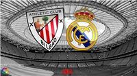 Kết quả bóng đá Athletic Bilbao 0-1 Real Madrid: Ramos ghi bàn trên chấm 11m, Real Madrid củng cố ngôi đầu