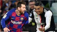 Chuyển nhượng 5/7: Messi có thể sát cánh với Ronaldo ở Juve. MU săn sao trẻ Uruguay