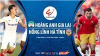Soi kèo bóng đá HAGL vs Hà Tĩnh. Trực tiếp bóng đá Việt Nam. VTV6. VTC3. BĐTV