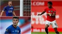 Top 4 Ngoại hạng Anh: MU và Leicester bám sát Chelsea, cuộc đua khốc liệt về cuối