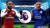 Soi kèo bóng đá Arsenal vs Leicester. Bóng đá Ngoại hạng Anh. Trực tiếp K+, K+PM