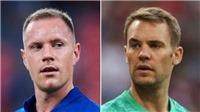 Neuer cảm thấy đồng cảm với Ter Stegen sau khi thủng lưới 8 lần