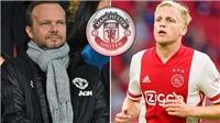 Bóng đá hôm nay 31/8: MU đạt thoả thuận mua Van de Beek. Havertz sang Chelsea vào tuần này