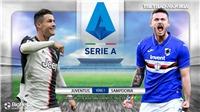 Soi kèo nhà cái Juventus vs Sampdoria. Vòng 1 Serie A. Trực tiếp FPTPlay