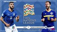 Soi kèo nhà cái Italy vsBosnia. UEFA Nations League 2020/2021. Trực tiếp BĐTV.