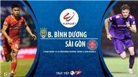 Soi kèo nhà cái. Bình Dương vs Sài Gòn. Trực tiếp bóng đá V-League 2020