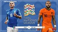Soi kèo nhà cái. Italy vsHà Lan. Trực tiếp UEFA Nations League. Trực tiếp K+PM, BĐTV.