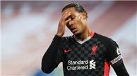 Van Dijk đang trở thành vấn đề của Liverpool