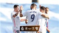 Real Madrid 4-1 Huesca: Hazard lập siêu phẩm sau 392 ngày tịt ngòi, Real Madrid lên đỉnh