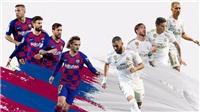 Kết quả bóng đá Barcelona 1-3 Real Madrid: Valverde, Ramos và Modric ghi bàn, Real 'đánh sập' Camp Nou