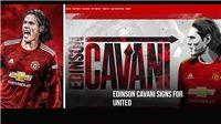 Bóng đá hôm nay 7/10: Cavani mặc áo dính 'lời nguyền' của MU. Indonesia có cầu thủ nhập tịch Hà Lan