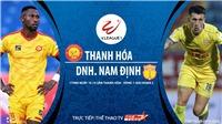 Soi kèo nhà cái Thanh Hóa vs Nam Định. Trực tiếp bóng đá Việt Nam. Trực tiếp TTTV