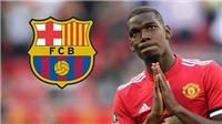 Bóng đá hôm nay 14/10: Barca bất ngờ muốn chiêu mộ Pogba. Tây Ban Nha thua sốc Ukraine
