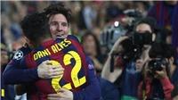 Dani Alves tiết lộ về lời khuyên giúp Messi quyết định ở lại Barcelona