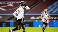 West Ham 1-3 MU: Pogba lập siêu phẩm sút xa, MU ngược dòng vào top 4