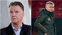 Van Gaal: 'Solskjaer chưa bị sa thải vì là cựu cầu thủ MU'