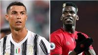 Bóng đá hôm nay 11/12: Juve dùng Ronaldo đổi Pogba. MU có băng ghế dự bị đắt giá nhất Premier League