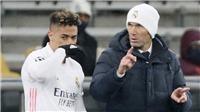 Zidane nói gì về tương lai sau trận thua Shakhtar Donetsk?