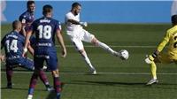 Kết quả bóng đá Huesca 1-2 Real Madrid: Varane lập cú đúp, Real thắng ngược trên sân khách