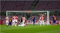 Barcelona 2-1 Athletic Bilbao: Messi lập siêu phẩm đá phạt trong ngày trở lại