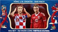 Chọn kèo Tây Ban Nha vs Nga (21h00 ngày 1/7) và Croatia vs Đan Mạch (1h00 ngày 2/7)