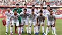 Lịch thi đấu và trực tiếp bóng đá: U22 Việt Nam đấu với U22 UAE