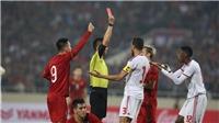 QUAN ĐIỂM: Thẻ đỏ dành cho Alhmammadi là hoàn toàn chính xác