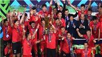 VIDEO bóng đá: HLV Park Hang Seo, Quang Hải sẽ chiến thắng ở AFF Awards 2019