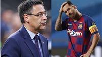 """Barcelona: Bartomeu sợ Messi chết khiếp hay lại chơi trò """"bẩn""""?"""