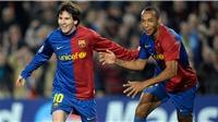 Messi từng sợ đến mức không dám nhìn vào mắt Henry
