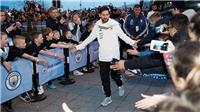 VIDEO: Manchester City hoàn tất việc chuẩn bị ra mắt Messi