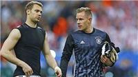 VIDEO bóng đá: HLV Joachim Loew chọn Neuer hay Stegen cho trận gặp Argentina?