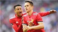 Video clip bàn thắng M.U 2-1 Tottenham: Sanchez và Herrera đưa 'Quỷ đỏ' vào chung kết FA Cup