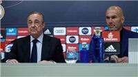 CẬP NHẬT tối 31/5: Chủ tịch Real Madrid sốc vì Zidane từ chức. M.U dẫn đầu cuộc đua giành Griezmann
