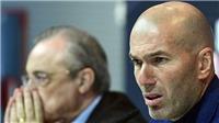 SỐC!!! Zinedine Zidane bất ngờ từ chức HLV Real Madrid