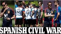 Tây Ban Nha sa thải HLV Lopetegui vì bị đâm sau lưng và Real Madrid bị nghi âm mưu gài bẫy