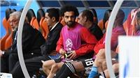 CẬP NHẬT tin tối 15/6: Salah dự bị, Ai Cập thua Uruguay 0-1. Suarez bị đối xử như 'con vật'