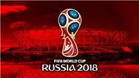 Xem TRỰC TIẾP World Cup 2018