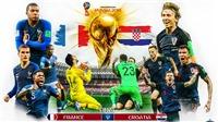 Pháp vs Croatia: Soi kèo và trực tiếp chung kết World Cup 2018