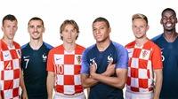 Trực tiếp Chung kết Pháp vs Croatia (22h00, 15/7), bế mạc World Cup 2018