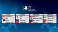 CẬP NHẬT U19 châu Á 18/10: Bảng A ra quân, U19 Việt Nam sẵn sàng đánh bại Jordan