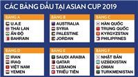 Lịch thi đấu Asian Cup 2019 24h. Bóng đá Asian Cup 2019. Lịch thi đấu bóng đá hôm nay. VTV6