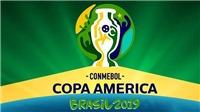 Lịch thi đấu Copa America 2019. Trực tiếp bóng đá Copa America 2019