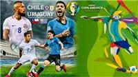 Chile vs Uruguay: Trực tiếp bóng đá. Trực tiếp Ecuador vs Nhật Bản, Copa America 2019