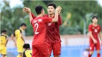 Lịch thi đấu bóng đá U22 SEA Games 30: VTV6 trực tiếp U22 Việt Nam