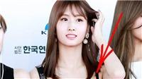 Momo Twice khiến fan 'đứng hình' khi tuột dây áo trên thảm đỏ
